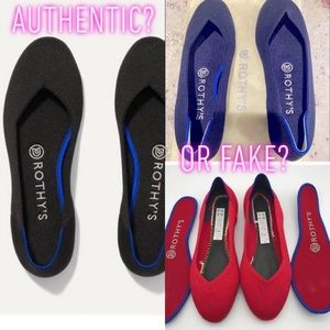 How to spot Fake Rothy's